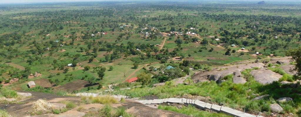 VIEW FROM KAGULU HILL